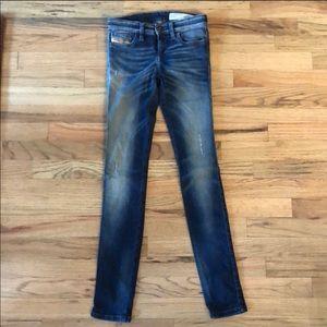 Diesel Stretch Skinny Sz 24 jeans low waist